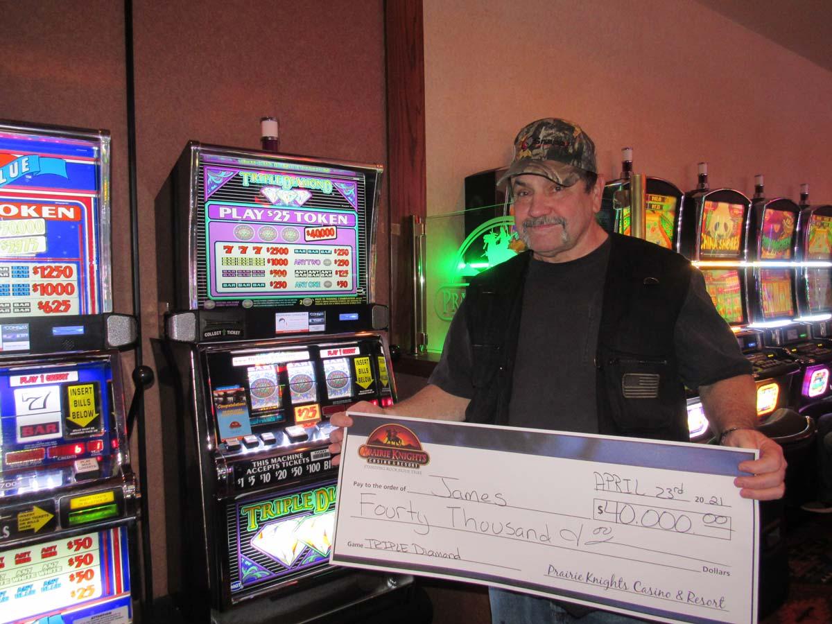 James – $40,000